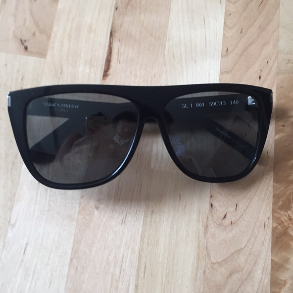 315938e5bfe ... THIS ITEM IS SOLD! Saint Laurent SL1 Sunglasses Kim Kardashian.  M 5a9ae520a4c485b033c6c654